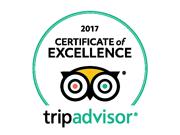 TripAdvisor Recommended 2017